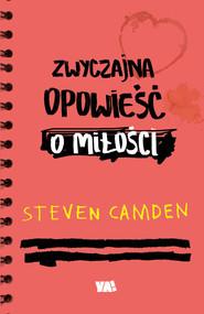 okładka Zwyczajna opowieść o miłości, Książka | Camden Steven