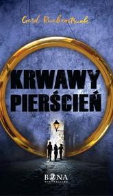 okładka Krwawy Pierścień, Książka | Ruebenstrunk Gerd
