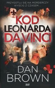 okładka Kod Leonarda da Vinci wydanie skrócone. Książka   papier   Brown Dan
