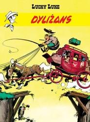 okładka Lucky Luke Dyliżans, Książka | Goscinny Rene