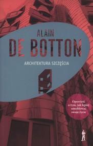 okładka Architektura szczęścia, Książka | Botton Alain