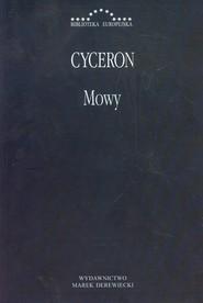 okładka Mowy, Książka | Marek Tulliusz Cyceron