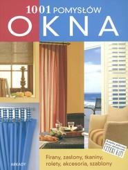 okładka Okna 1001 pomysłów, Książka | Justin Anne