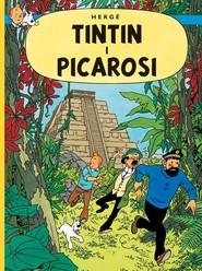 okładka Przygody Tintina Tom 23 Tintin i Picarosi, Książka   Herge