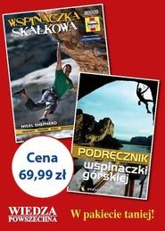 okładka Pakiet Poradniki dla pasjonatów wspinaczki, Książka |