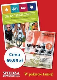 okładka Pakiet dla triatlonistów, Książka |