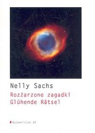okładka Rozżarzone zagadki Gluhende Ratsel, Książka   Sachs Nelly