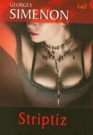 okładka Striptiz, Książka | Simenon Georges