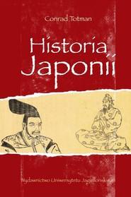 okładka Historia Japonii, Książka | Totman Conrad