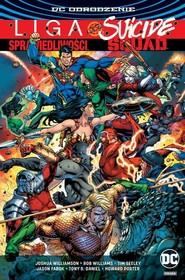 okładka Liga Sprawiedliwości kontra Suicide Squad, Książka | Joshua Williamson, Tim Seeley, Rob Williams, praca zbiorowa