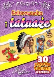 okładka Kolorowanka i tatuaże, Książka |