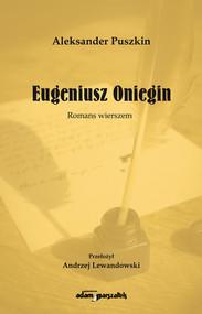 okładka Eugeniusz Oniegin Romans wierszem, Książka | Puszkin Aleksander