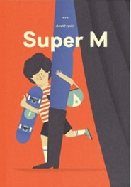 okładka Super M, Książka   Ryski Dawid