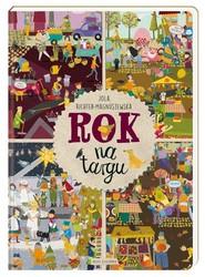 okładka Rok na targu, Książka   Jola Richter-Magnuszewska, Richter-Magnuszews