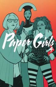okładka Paper Girls 4, Książka | Brian K. Vaughan
