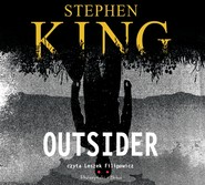 okładka Outsider. Audiobook | papier | Stephen King