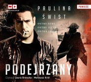 okładka Podejrzany, Książka | Świst Paulina