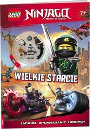 okładka LEGO Ninjago Wielkie Starcie LNC-16, Książka |