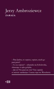okładka Zaraza, Książka | Ambroziewicz Jerzy