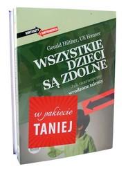 okładka Wszystkie dzieci są zdolne / Granica bólu Pakiet, Książka   Huther i Uli Hauser Joachim Bauer Gerald
