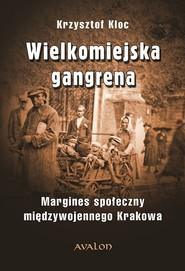 okładka Wielkomiejska gangrena Margines społeczny międzywojennego Krakowa., Książka | Kloc Krzysztof