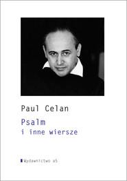 okładka Psalm i inne wiersze, Książka | Celan Paul