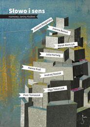 okładka Słowo i sens. Książka | papier | Koźbiel Janina