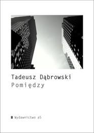 okładka Pomiędzy, Książka | Dąbrowski Tadeusz