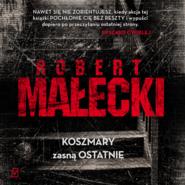 okładka Koszmary zasną ostatnie, Audiobook | Robert Małecki