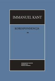 okładka Korespondecja, Książka | Kant Immanuel