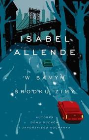 okładka W samym środku zimy, Książka   Allende Isabel