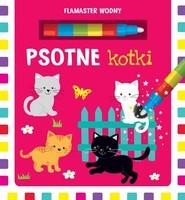 okładka Flamaster wodny Psotne kotki. Książka | papier |