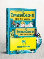 okładka Dzieciaki Czytają: ZwierzoChłopiec + CD Pakiet, Książka | Baddiel David