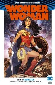 okładka Wonder Woman Tom 4 Godwatch. Książka | papier | Rucka Greg