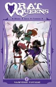 okładka Rat Queens T.4 Najwyższe fantazje Comics. Książka | papier | Wiebe J.Kurtis