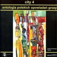okładka City 4 Antologia polskich opowiadań grozy, Książka |
