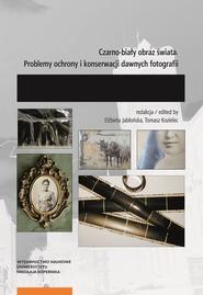 okładka Czarno-biały obraz świata Problemy ochrony i konserwacji dawnych fotografii., Książka |