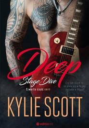 okładka Deep Stage Dive, Książka | Kylie Scott