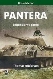okładka Pantera Legendarny czołg, Książka   Anderson Thomas