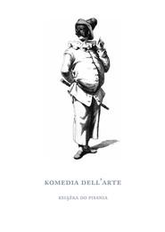 okładka Komedia dell'arte Książka do pisania, Książka  