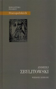 okładka Wiersze zebrane, Książka | Zbylitowski Andrzej