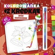 okładka Kolorowanka z kredką Boże Narodzenie, Książka |