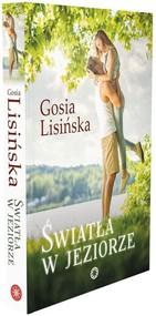 okładka Światła w jeziorze, Książka   Lisińska Gosia