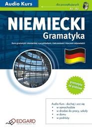 okładka Niemiecki Gramatyka, Audiobook   autor zbiorowy