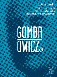 okładka Dziennik t.2 i 3 - audiobook, Audiobook | Witold Gombrowicz