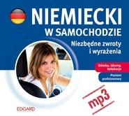 okładka Niemiecki w samochodzie - Niezbędne zwroty i wyrażenia, Audiobook   autor zbiorowy