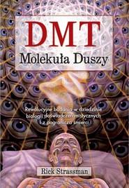 okładka DMT Molekuła duszy Rewolucyjne badania w dziedzinie biologii doświadczeń mistycznych i z pogranicza śmierci, Książka | Strassman Rick