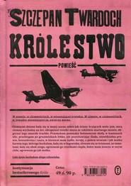 okładka Królestwo, Książka   Twardoch Szczepan