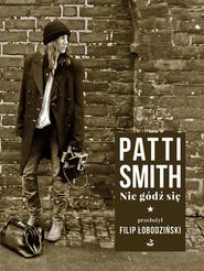 okładka Nie gódź się, Książka | Smith Patti