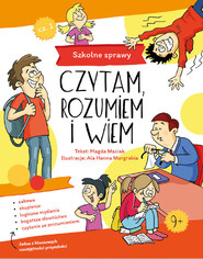 okładka Szkolne sprawy, Książka | Maciak Magdalena